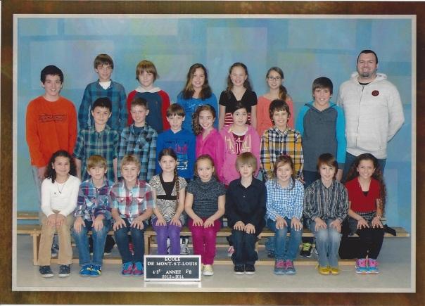 photo classe 2014